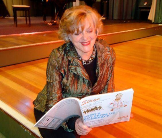 Jill Perryman Nancye Hayes Toni Lamond and Jill Perryman Honoured Stage Whispers