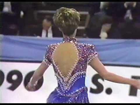 Jill Trenary Jill Trenary 1990 US Figure Skating Championships Ladies Free