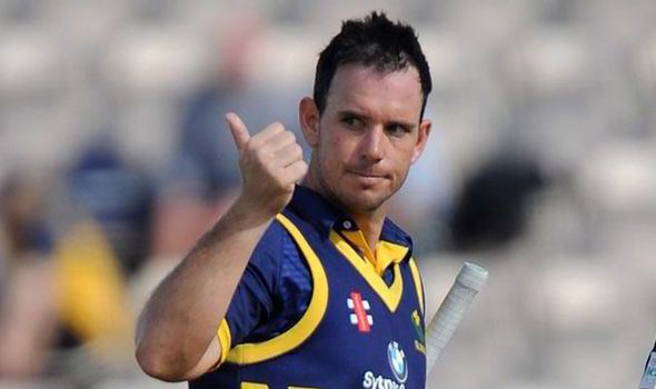 Jim Allenby Jim Allenby the hero as Glamorgan clinch Lords date Cricket