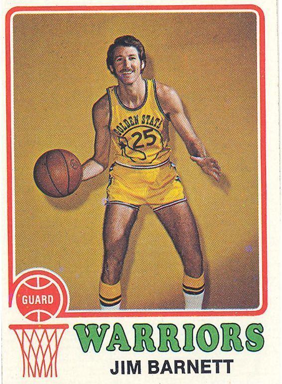 Jim Barnett (basketball) This Jim Barnett basketball card is number 108 in a series