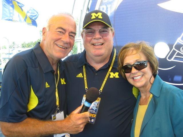 Jim Brandstatter Michigan Football FanFest Tailgate Show 91011 Lucy Ann
