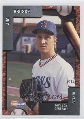 Jim Bruske 1992 Fleer ProCards Minor League Base 3992 Jim Bruske COMC