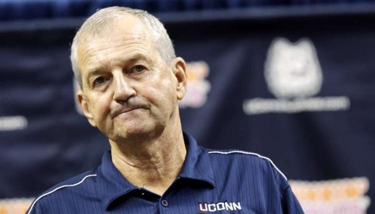 Jim Calhoun Bondy Calhoun leaves Huskies in NCAA doghouse NY Daily News