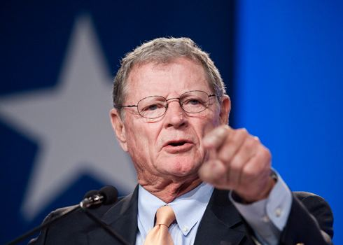 Jim Inhofe Climate Denier Jim Inhofe Says He Could Lead Senate39s Top