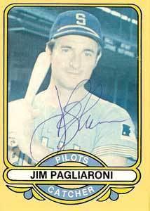 Jim Pagliaroni wwwbaseballalmanaccomplayerspicsjimpagliaro