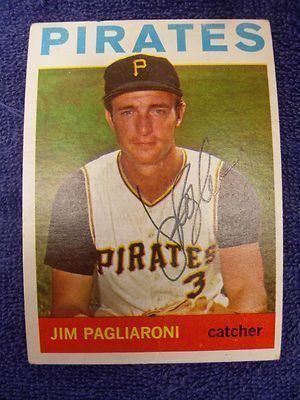 Jim Pagliaroni Jim Pagliaroni Signature Sports Baseball