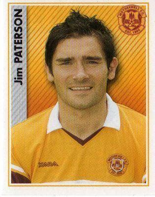 Jim Paterson (footballer) MOTHERWELL Jim Paterson 335 PANINI 2007 Scottish Premier League
