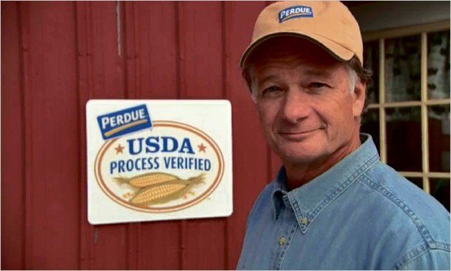 Jim Perdue Perdue Goes to the Farm With an Earnest Approach