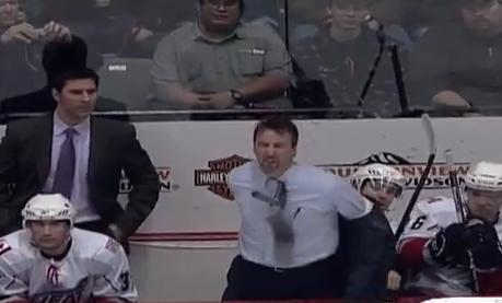 Jim Playfair AHL Coach Jim Playfair Loses His Cool Total Pro Sports
