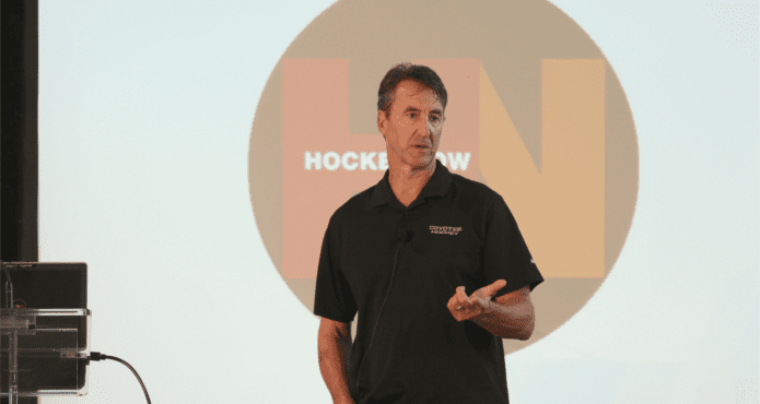 Jim Playfair Jim Playfair Defensemen Details Ice Hockey Coaching Tips Drills