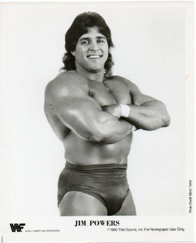 Jim Powers Photo 331 of 488 Supplex55 WWF Promo PhotosUnnumbered BW