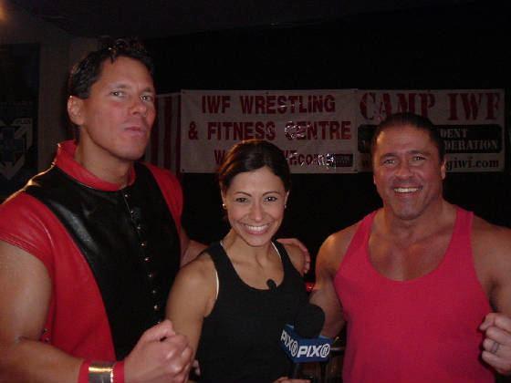 Jim Powers IWF Wrestling WWE Legend Young Stallion Jim Powers