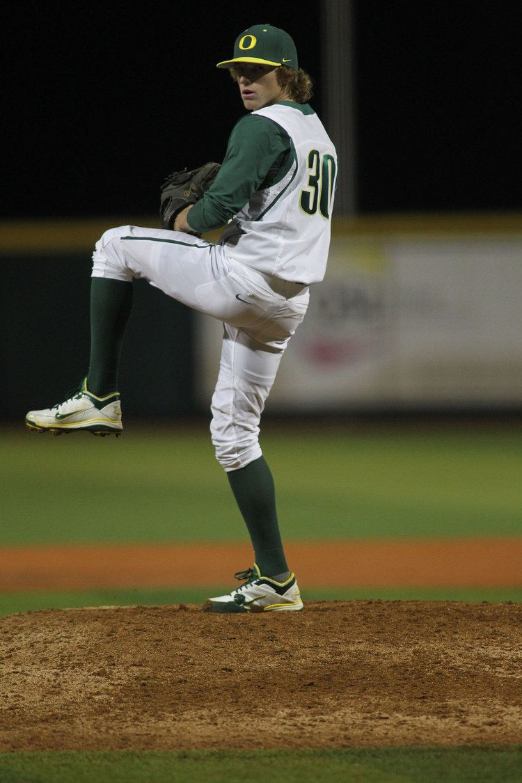 Jimmie Sherfy Oregon Ducks pitcher Jimmie Sherfy settles into closer39s