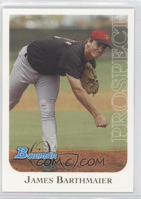 Jimmy Barthmaier 2006 Bowman Originals Prospects BO10 Jimmy Barthmaier COMC