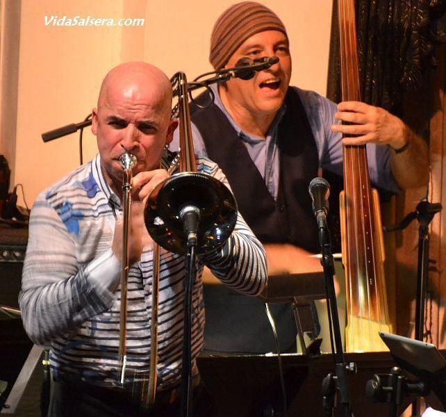 Jimmy Bosch Trombonist Jimmy Bosch at The Granada Salsa Dancing in Los Angeles
