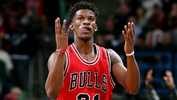 Jimmy Butler (basketball) Bulls39 Jimmy Butler voted as NBA39s Most Improved Player
