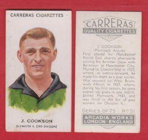 Jimmy Cookson Plymouth Argyle Jimmy Cookson