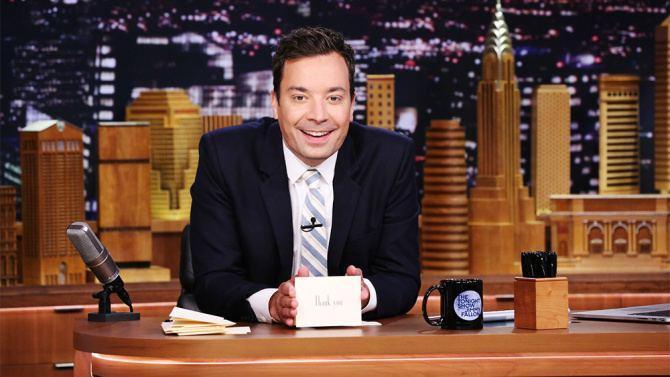 Jimmy Fallon Jimmy Fallon Hand Injury Comedian Taken to Hospital is Okay VIDEO