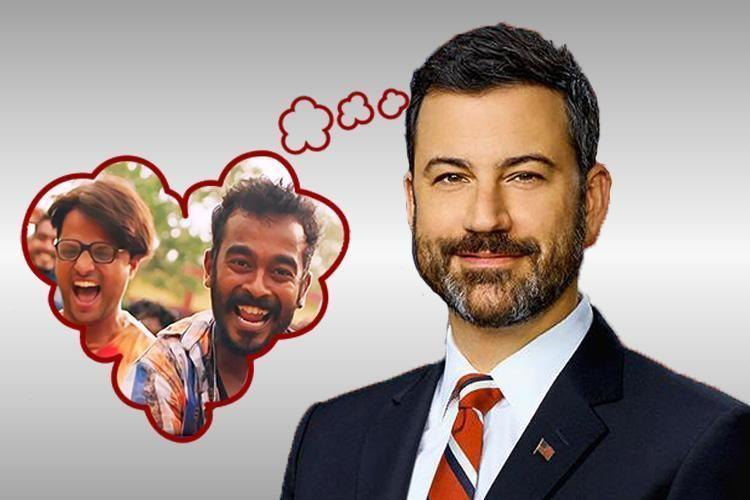 Jimmy Kimmel I love Jimikki Kammal says Jimmy Kimmel American TV host The