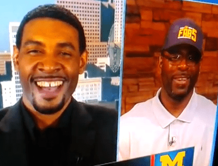 Jimmy King Ray Jackson amp Jimmy King of the Fab 5 Encourage Michigan