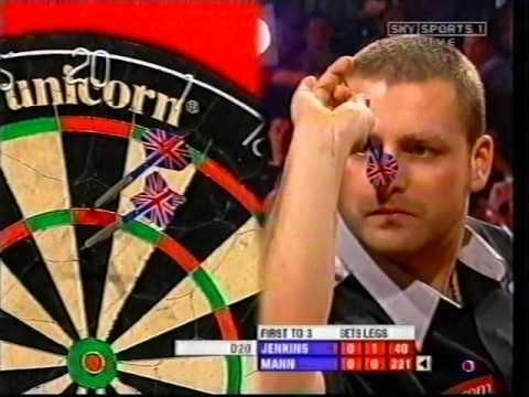 Jimmy Mann (darts player) Jimmy Mann vs Terry Jenkins 2006 Worlds pt 1 YouTube