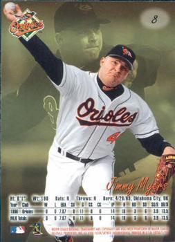 Jimmy Myers (baseball) Jimmy Myers Gallery The Trading Card Database