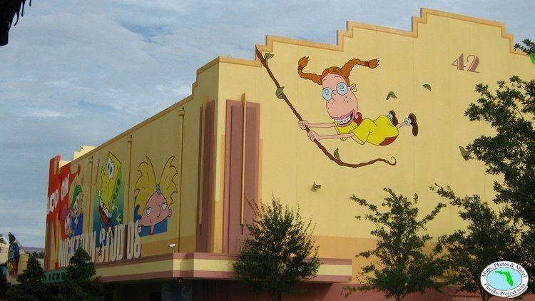 Jimmy Neutron's Nicktoon Blast Universal Orlando Universal Studios Florida Production Central