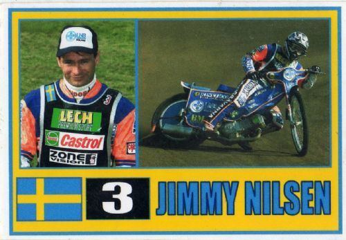 Jimmy Nilsen SWEDEN Jimmy Nilsen 3 SPEEDWAY Trading Card