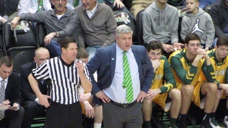 Jimmy Patsos Siena Coach Jimmy Patsos Technical Foul vs Quinnipiac on Senior Day