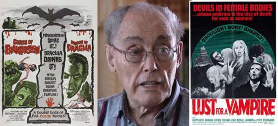 Jimmy Sangster Jimmy Sangster Hammer Horror Writer amp Director Dead at