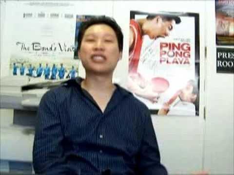 Jimmy Tsai Ping Pong Playa Jimmy Tsai talking about community support