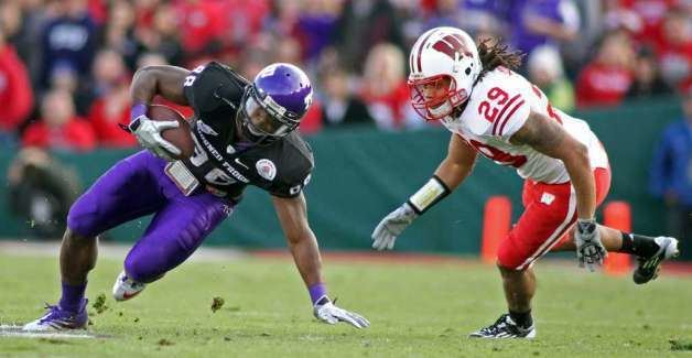 Jimmy Young (American football) Texas Christian University wide receiver Jimmy Young 88 498830