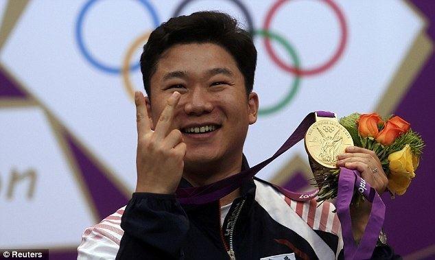 Jin Jong-oh London 2012 Olympics Shooting Jin Jong Oh wins gold in