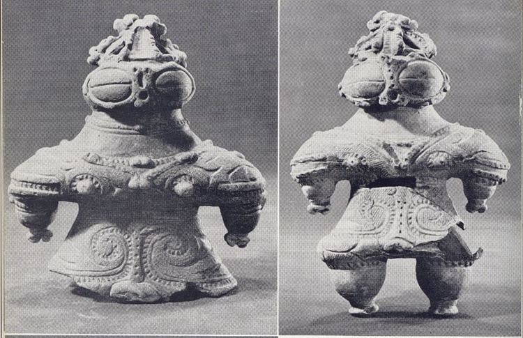 Jōmon period Japanese Pottery Clay Figurines from the Jomon Period