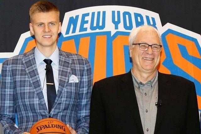 Jānis Porziņģis Jnis Porziis par Kristapa pirmgjienu basketbola Everest NBA