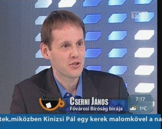 János Cserni MOKKA Cserni Jnos a Fvrosi Brsg brja tv2hu
