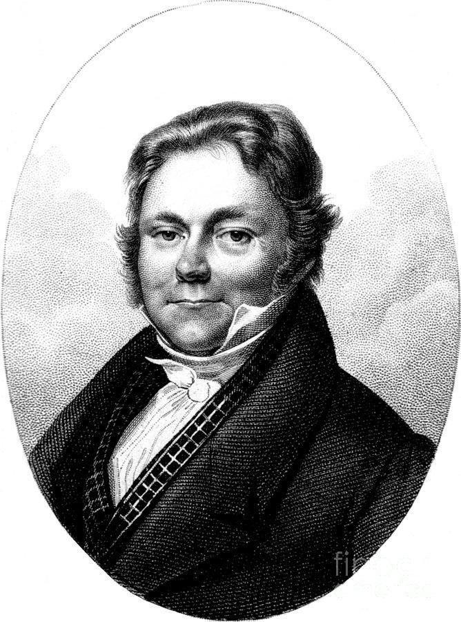 Jöns Jacob Berzelius Jns Jacob Berzelius Father Of Swedish Photograph by Science Source