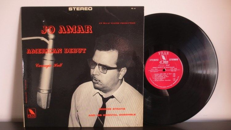 Jo Amar Jo Amar With George Stratis And His Oriental Ensemble American