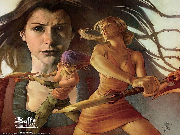 Jo Chen Jo Chen Cover Illustrations of Buffy the Vampire Slayer