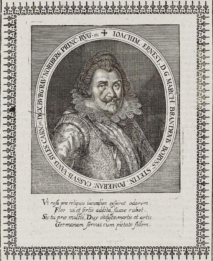 Joachim Ernst, Margrave of Brandenburg-Ansbach