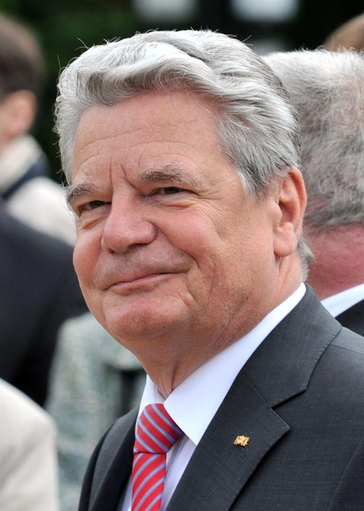 Joachim Gauck Joachim Gauck Wikipedia the free encyclopedia