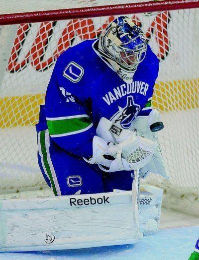 Joacim Eriksson Vancouver Canucks goaltending history Joacim Eriksson