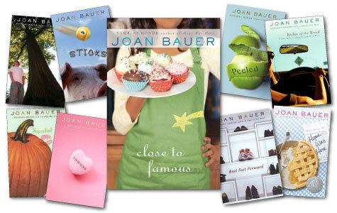 Joan Bauer (novelist) Mackin LIBRARY AUTHORINTERVIEWSBAUER