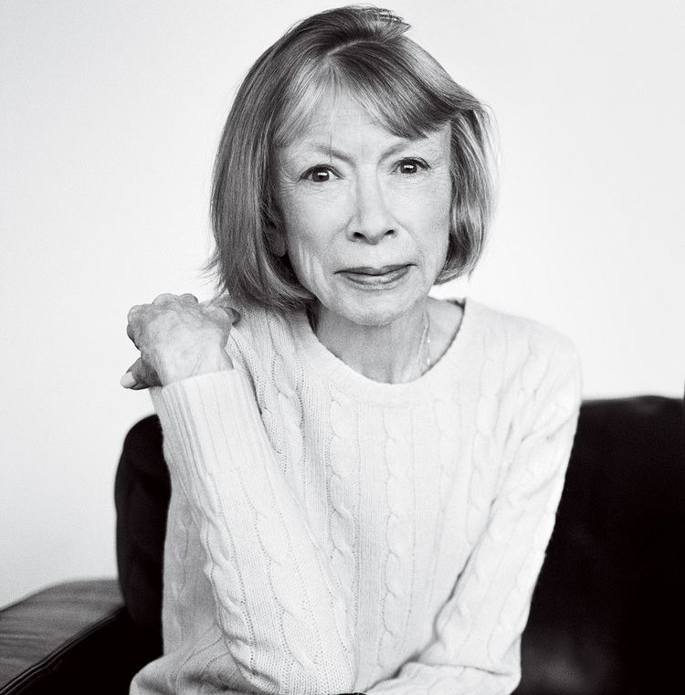 Joan Didion In Sable and Dark Glasses Vogue