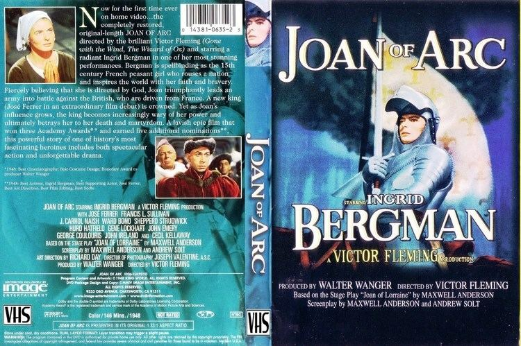 Joan of Arc (1948 film) TradCatKnight Saint Joan of Arc was a knight not a knightess