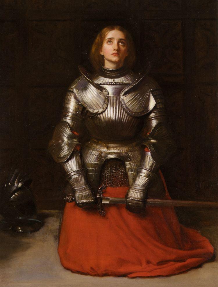 Joan of Arc Joan of Arc John Everett Millais WikiArtorg