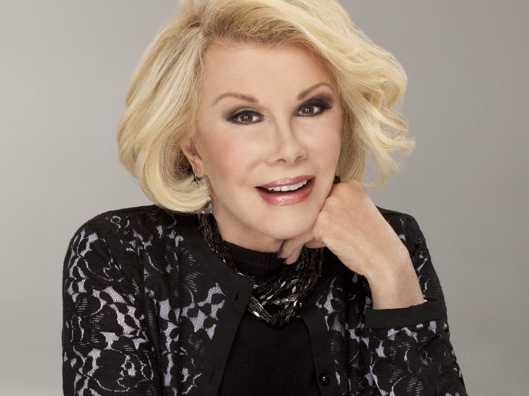 Joan Rivers Life Is Tough Says Joan Rivers So 39You Better Laugh At