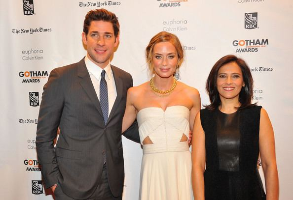 Joana Vicente Emily Blunt and Joana Vicente Photos IFP39s 22nd Annual