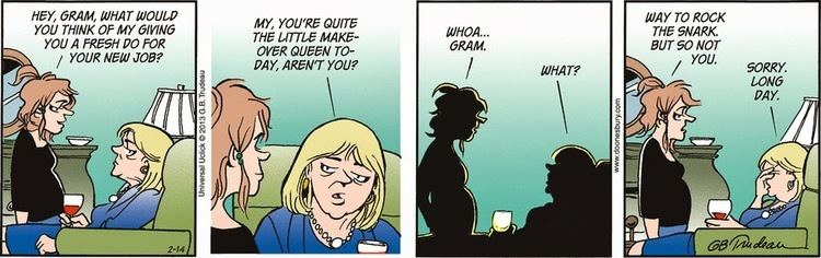 Joanie Caucus DownWithTyranny Doonesbury Watch When Joanie Caucus applied to