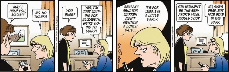 Joanie Caucus DownWithTyranny Our own Doonesbury flashback When Joanie Caucus